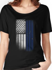 USA Vintage Alaska State Flag Women's Relaxed Fit T-Shirt