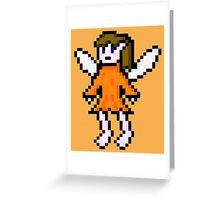 Orange Fairy Greeting Card