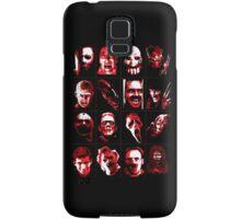 Horror Movie Icons Vector Art Samsung Galaxy Case/Skin