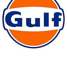 Gulf Oil by rajahkolocokro