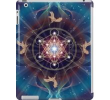 Metatron's Cube - Merkabah - Peace and Balance iPad Case/Skin
