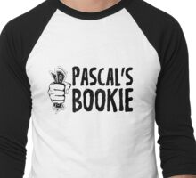 Pascal's Wager? How about Pascal's Bookie?  Men's Baseball ¾ T-Shirt