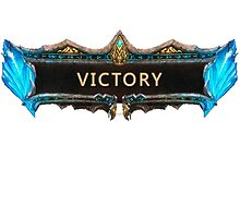 Victory League of Legends by GALD-Store
