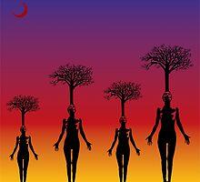 Women Forest by scardesign11