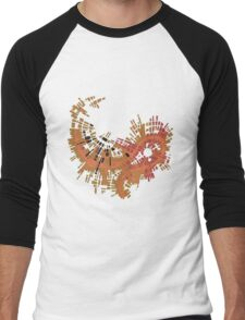 cipher n. 10  (original sold) Men's Baseball ¾ T-Shirt
