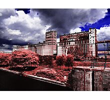 Old factory, Montreal Photographic Print