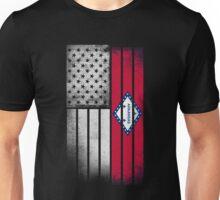 USA Vintage Arkansas State Flag Unisex T-Shirt