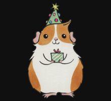 Cute Fluffy Christmas Guinea-pig Kids Clothes