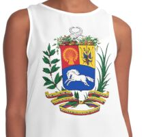 Coat of Arms with Horse Contrast Tank
