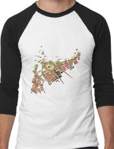 cipher n. 9  (original sold) Men's Baseball ¾ T-Shirt