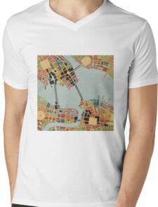cipher n. 8  (original sold) Mens V-Neck T-Shirt