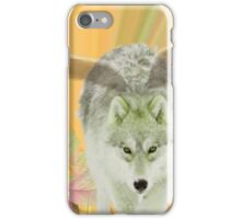 FOR THE LOVE OF WOLVES iPhone Case/Skin