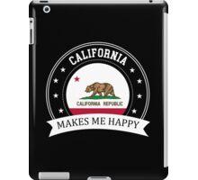 California Makes Me Happy iPad Case/Skin
