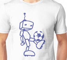 Robot soccer Unisex T-Shirt