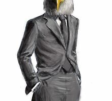 Business Eagle by JennieMarie