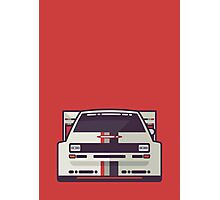 Audi Sport Quattro S1 - Audi Sport Livery (Red) Photographic Print