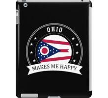 Ohio Makes Me Happy iPad Case/Skin