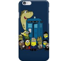 Doc Minion 12 and Chums iPhone Case/Skin