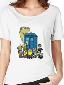 Doc Minion 12 and Chums Women's Relaxed Fit T-Shirt