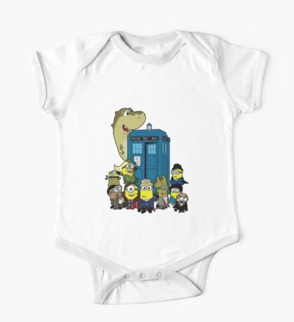 Doc Minion 12 and Chums One Piece - Short Sleeve
