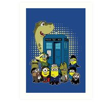 Doc Minion 12 and Chums Art Print