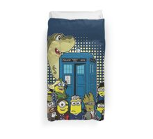 Doc Minion 12 and Chums Duvet Cover