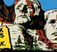Mount Mt Rushmore South Dakota Vintage Travel Decal Sticker