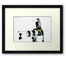 Canon 70d 02 Framed Print
