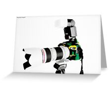 Canon 70d 02 Greeting Card