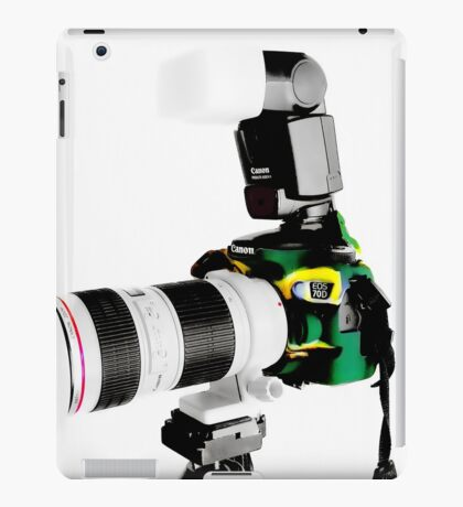 Canon 70d 02 iPad Case/Skin