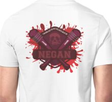 "Walking Dead Negan Blood Splatter  ""I'm gonna beat the Holy H*** Outa One Of You"" Unisex T-Shirt"
