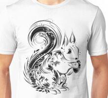 Eichhörnchen mit Eichel in den Pfoten Unisex T-Shirt
