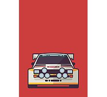 Audi Sport Quattro S1 - HB Livery (Red) Photographic Print