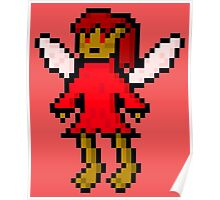 Red Fairy Poster