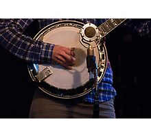 He's a Banjo Boy Photographic Print