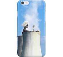 in a hot tub iPhone Case/Skin