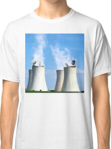 in a hot tub Classic T-Shirt