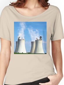 in a hot tub Women's Relaxed Fit T-Shirt