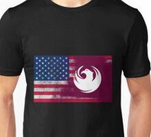 Arizona American Flag Fusion Unisex T-Shirt