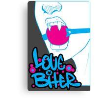 Love Biter Canvas Print