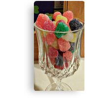 A Glass of Something Spicy and Sweet Canvas Print