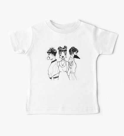 The Triplets - Black Edition Baby Tee