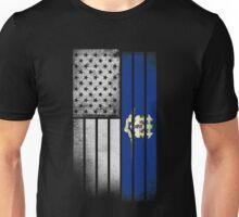USA Vintage Connecticut State Flag Unisex T-Shirt