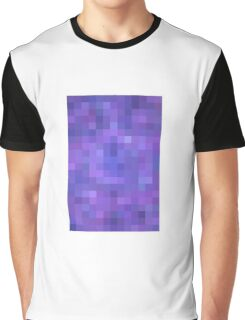 Re-Created Colored Squares No. 20 by Robert S. Lee Graphic T-Shirt