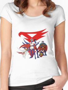 g force Women's Fitted Scoop T-Shirt