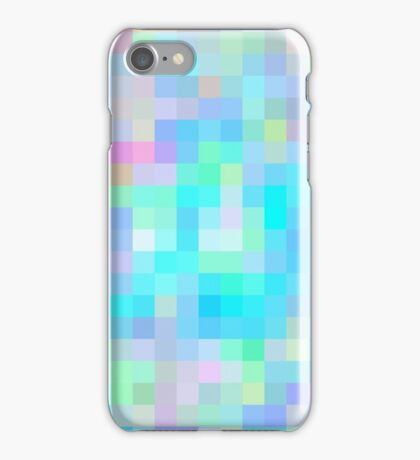 Re-Created Colored Squares No. 1 by Robert S. Lee iPhone Case/Skin