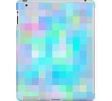 Re-Created Colored Squares No. 1 by Robert S. Lee iPad Case/Skin