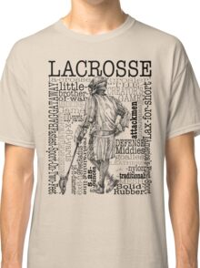 Word Montage-LACROSSE (Male) Classic T-Shirt