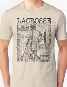 Word Montage-LACROSSE (Male) T-Shirt