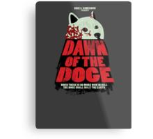 Dawn of the Doge Metal Print
